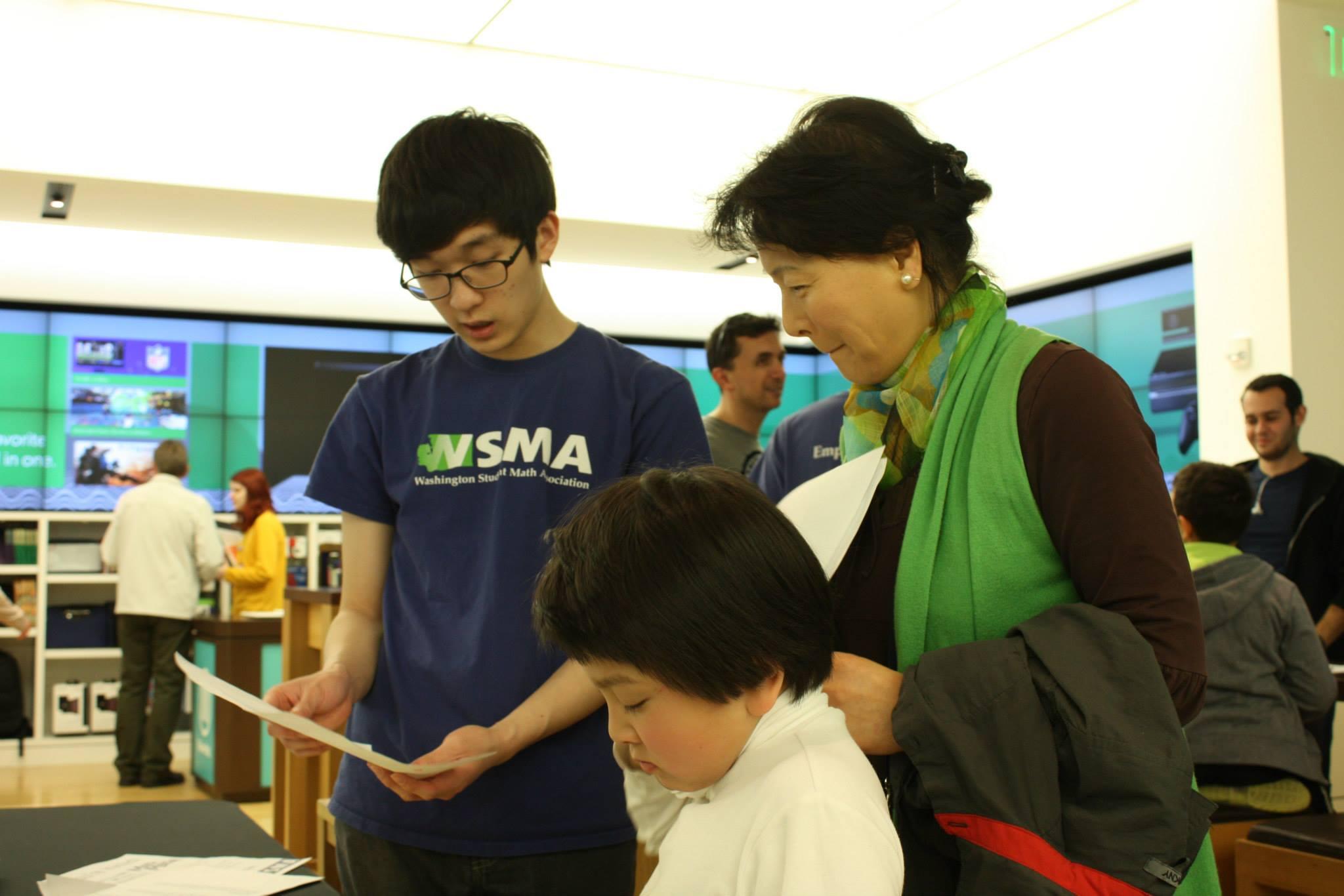 Math Mania – Washington Student Math Association - WSMA